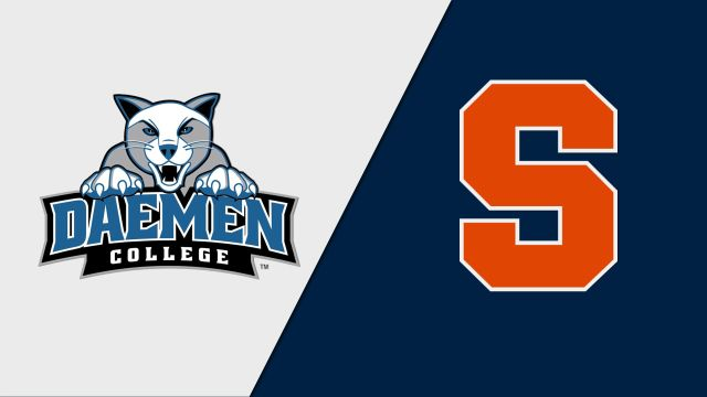 Daemen vs. Syracuse (M Basketball)