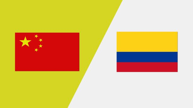 China vs. Colombia