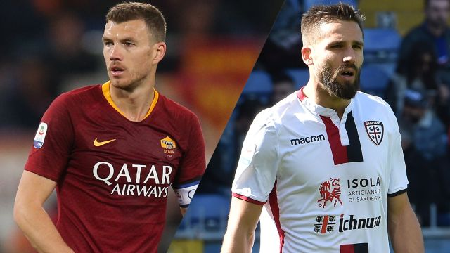 In Spanish-AS Roma vs. Cagliari (Serie A)