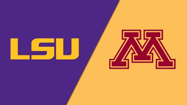 #10 LSU vs. #7 Minnesota (Site 4 / Game 1) (NCAA Softball Super Regionals)