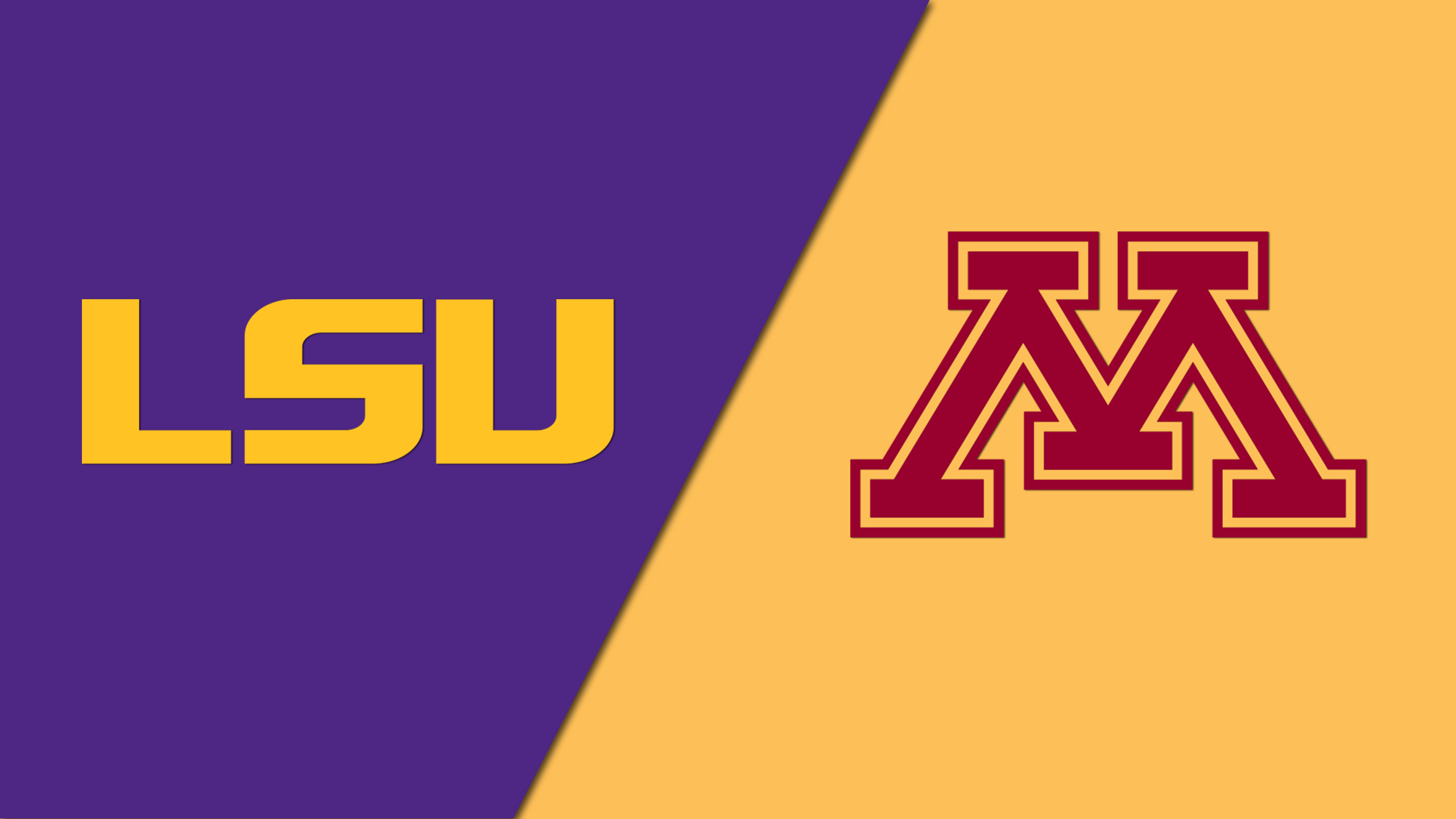 LSU vs. Minnesota (Site 4 / Game 1) (re-air)
