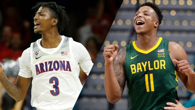Sat, 12/7 - #12 Arizona vs. #18 Baylor (M Basketball)