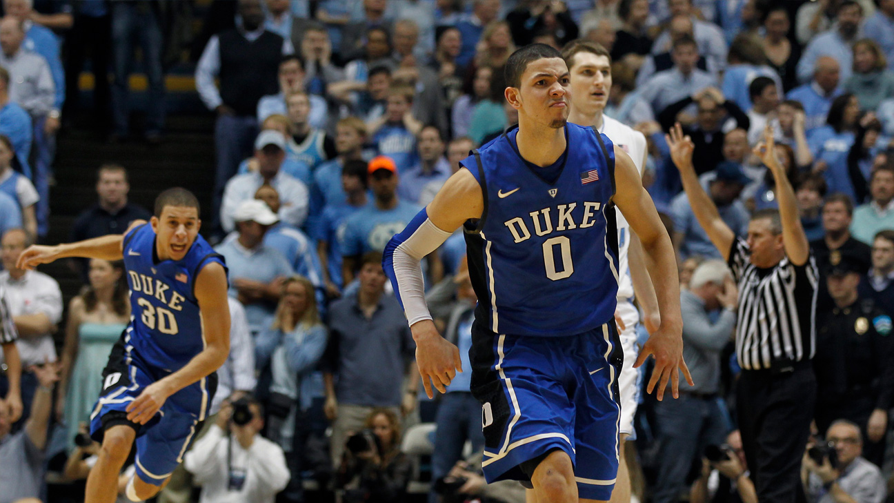 #10 Duke vs. #5 North Carolina - 2/8/2012 (re-air)