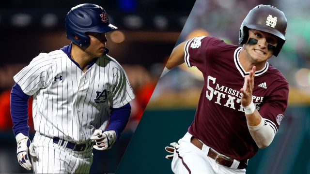 Auburn vs. #6 Mississippi State (Game 4) (College World Series)