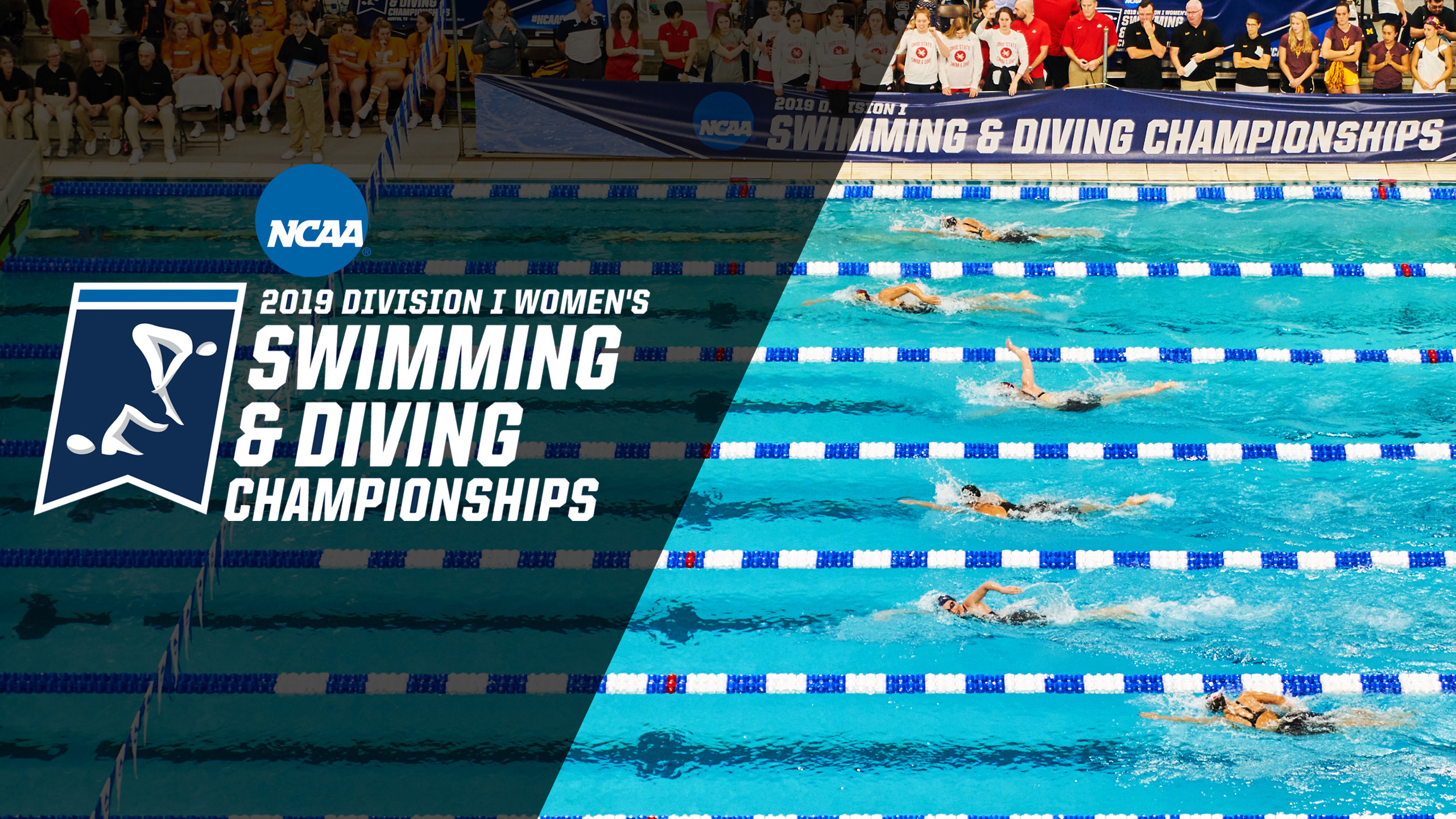 NCAA Women's Swimming and Diving Championship - Trophy Ceremony