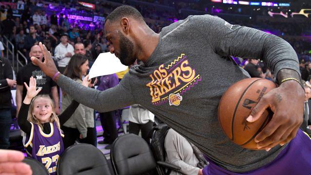 NBA Layup Lines