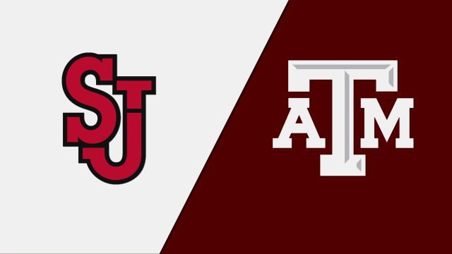 St. John's vs. #13 Texas A&M (First Round) (NCAA Women's Volleyball Tournament)