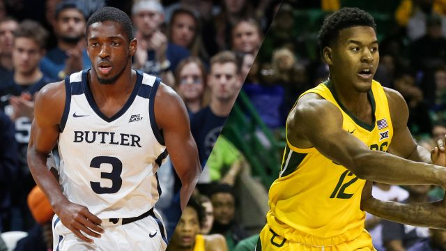 Tue, 12/10 - #18 Butler vs. #11 Baylor (M Basketball)