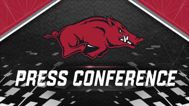 Arkansas Football Press Conference
