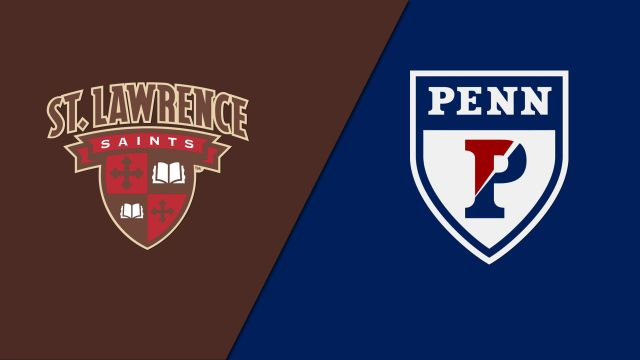 St. Lawrence vs. Pennsylvania (Court 3) (Men's College Squash)