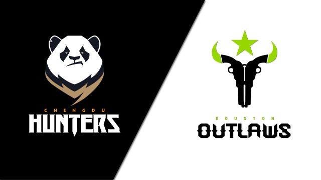 Chengdu Hunters vs. Houston Outlaws (Esports)