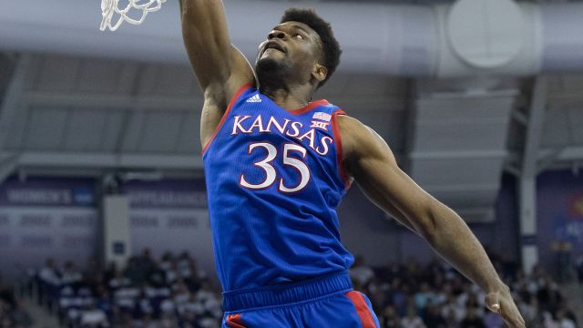 Oklahoma State vs. #1 Kansas (M Basketball)