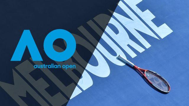 In Spanish - Australian Open Tennis (Tercera Ronda)
