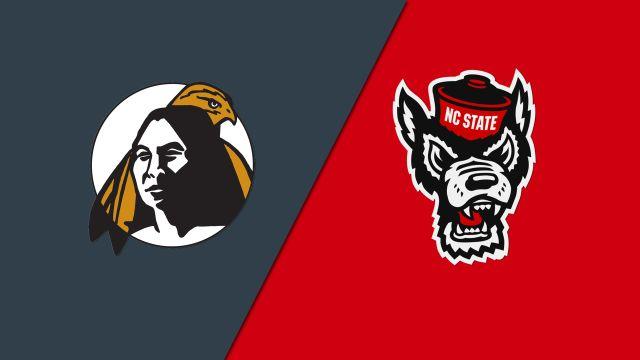 UNC Pembroke vs. NC State