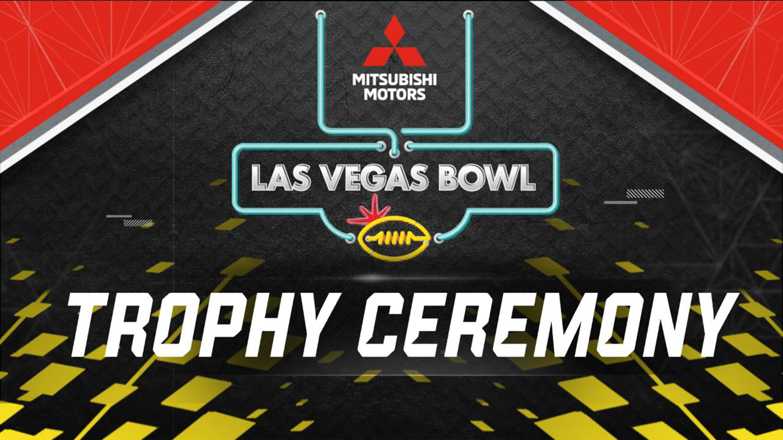 Mitsubishi Motors Las Vegas Bowl Trophy Ceremony Presented by Capital One