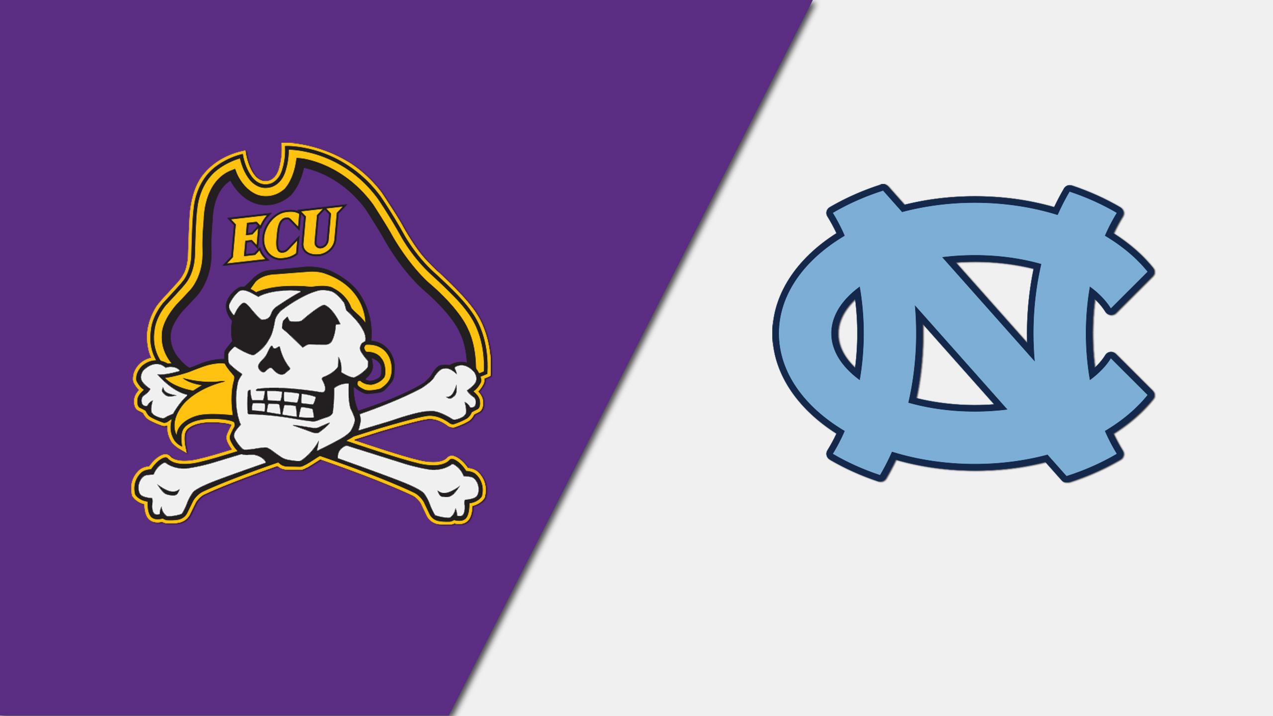 East Carolina vs. #3 North Carolina (W Lacrosse)
