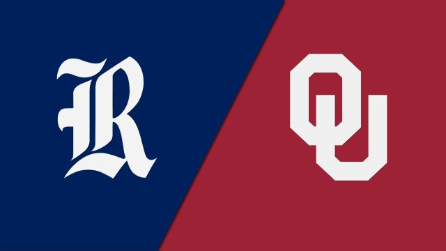 Rice vs. Oklahoma (First Round) (NCAA Women's Volleyball Tournament)