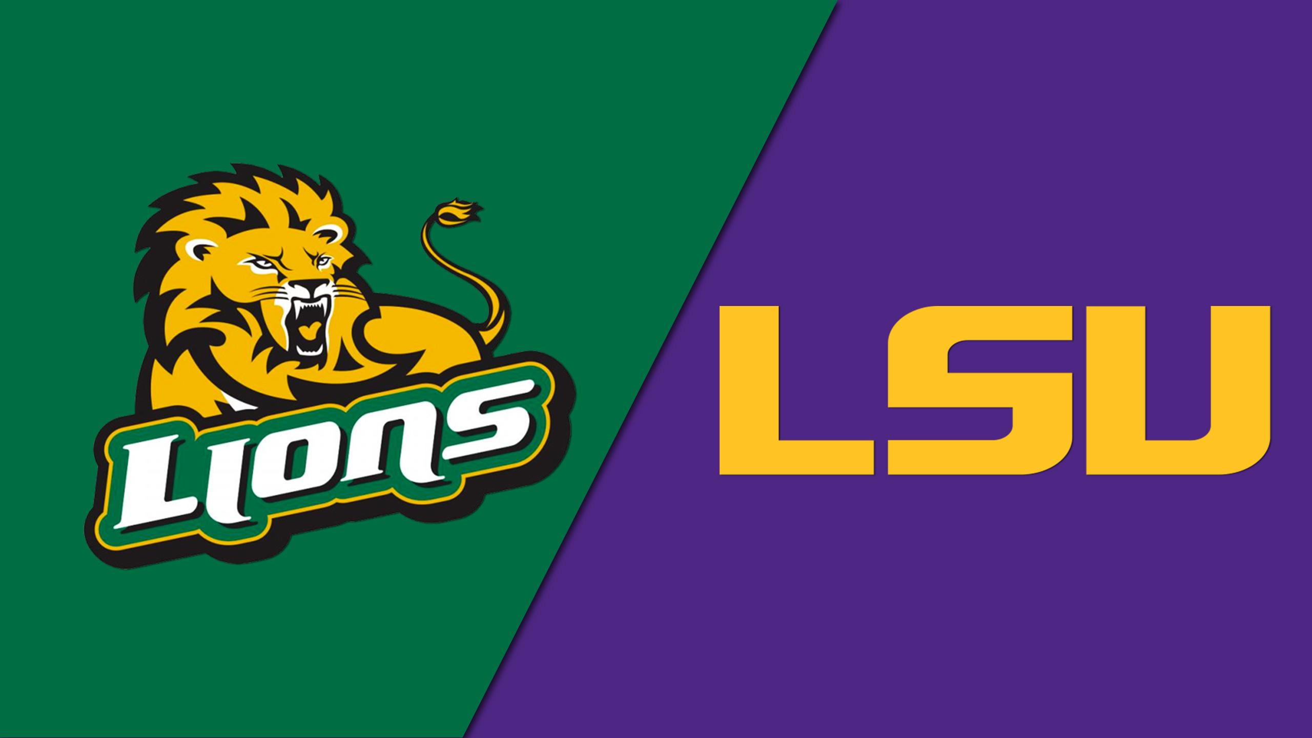 Southeastern Louisiana vs. LSU