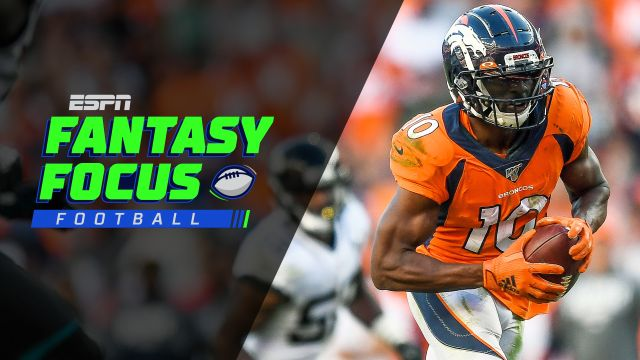 Fantasy Focus Live! Week 8 rankings