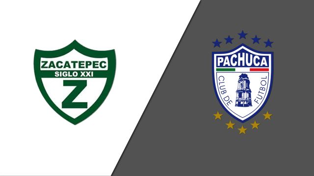 Wed, 10/23 - In Spanish-Zacatepec vs. Tuzos del Pachuca (Jornada 6) (Copa MX)