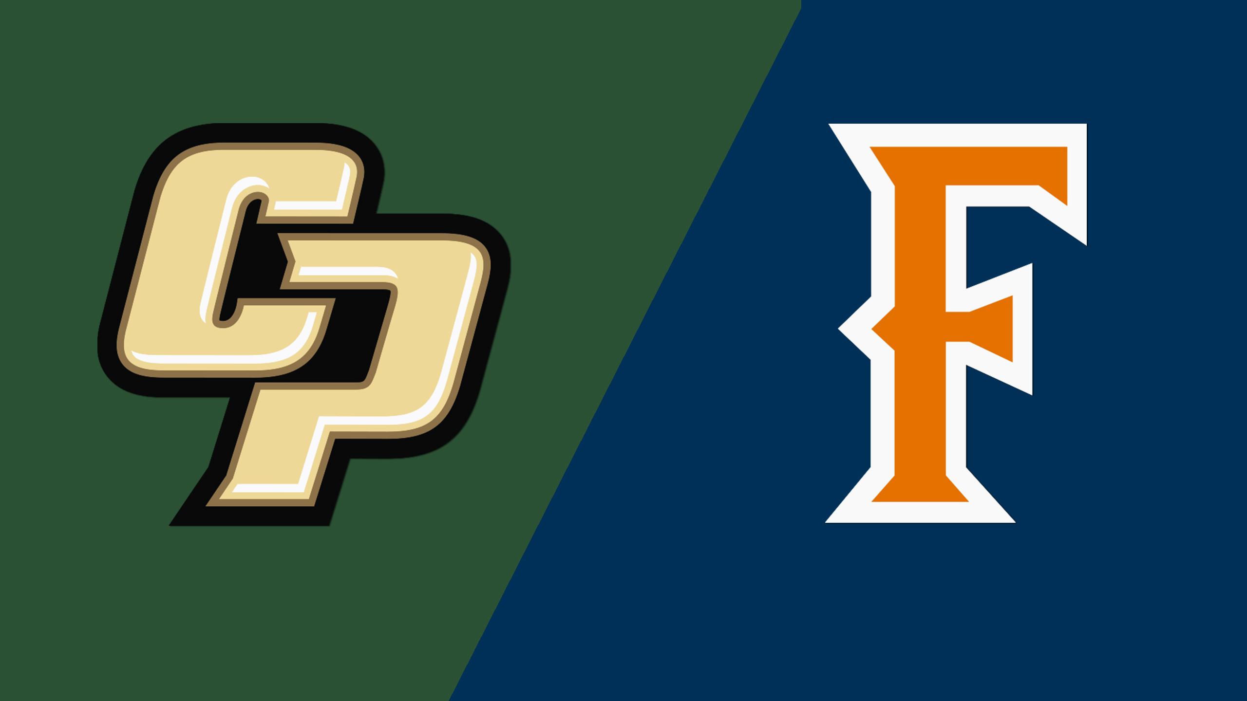 Cal Poly vs. CSU Fullerton (W Soccer)