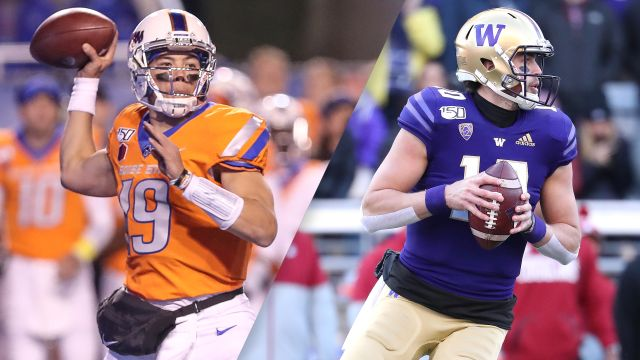 Mitsubishi Motors Las Vegas Bowl: Boise State vs. Washington