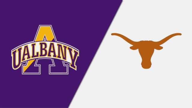 Thu, 12/5 - Albany vs. #2 Texas (NCAA Women's Volleyball Tournament)