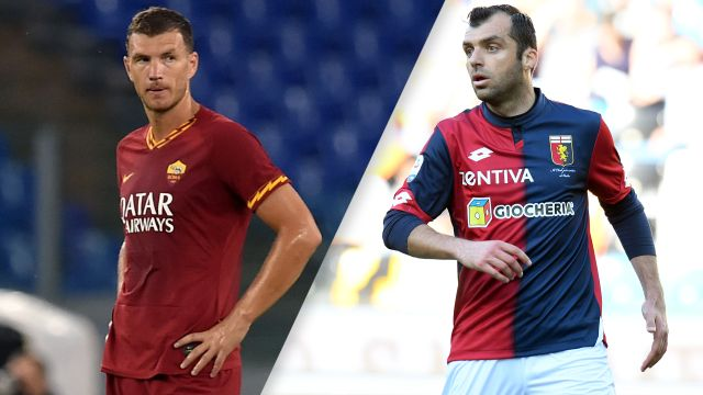 Sun, 8/25 - AS Roma vs. Genoa (Serie A)