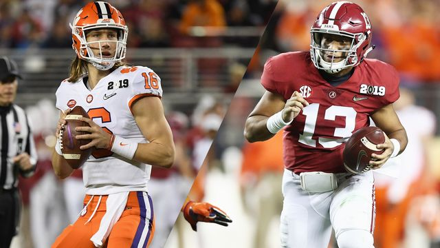 #2 Clemson vs. #1 Alabama (re-air)