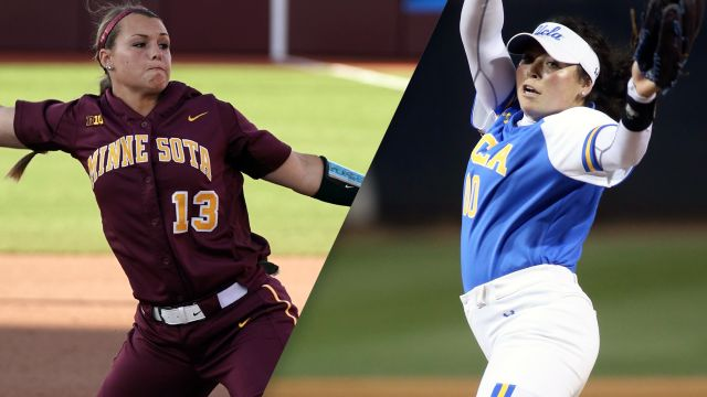 #7 Minnesota vs. #2 UCLA (Game #2) (NCAA Softball World Series)
