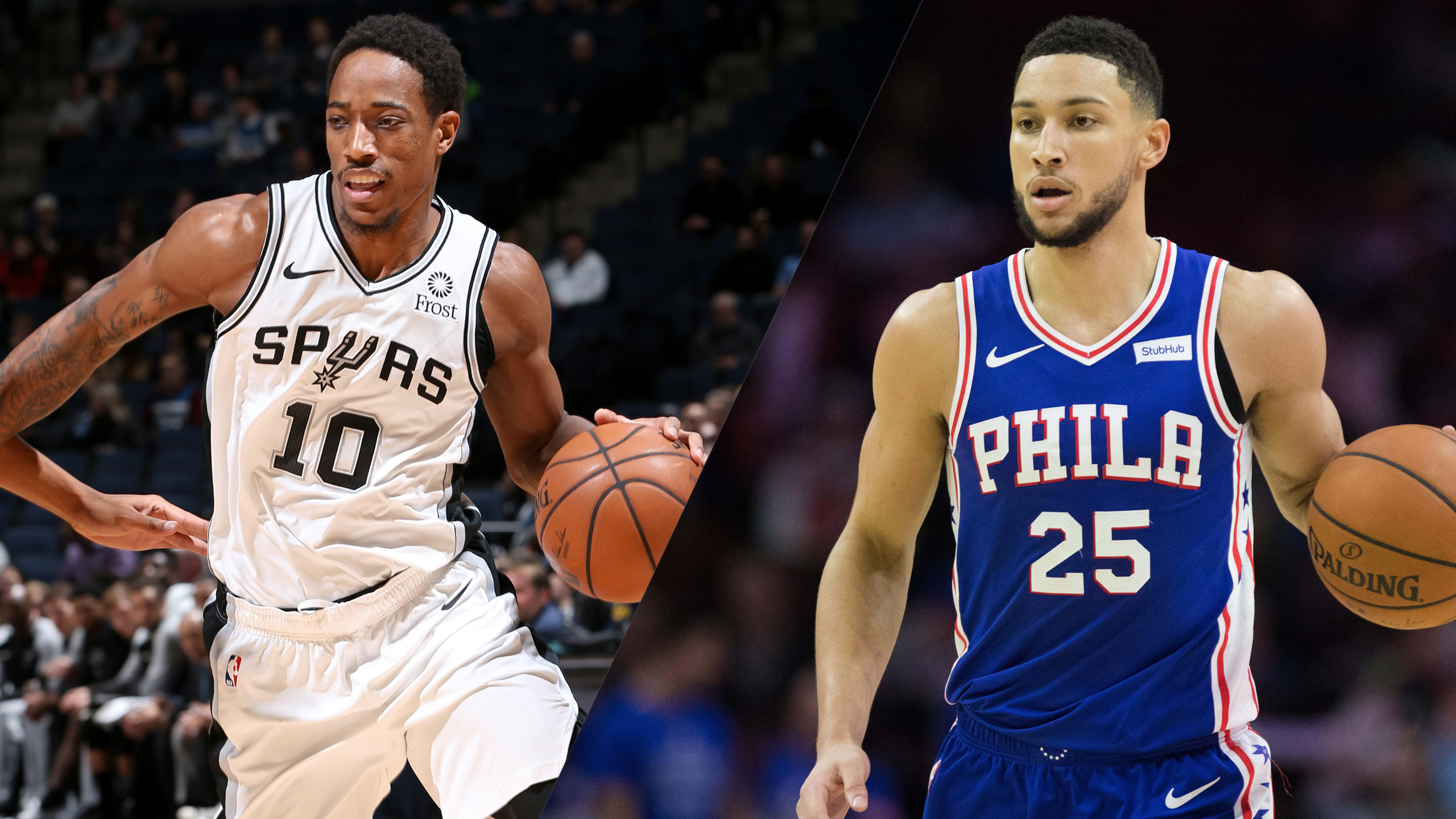 In Spanish - San Antonio Spurs vs. Philadelphia 76ers