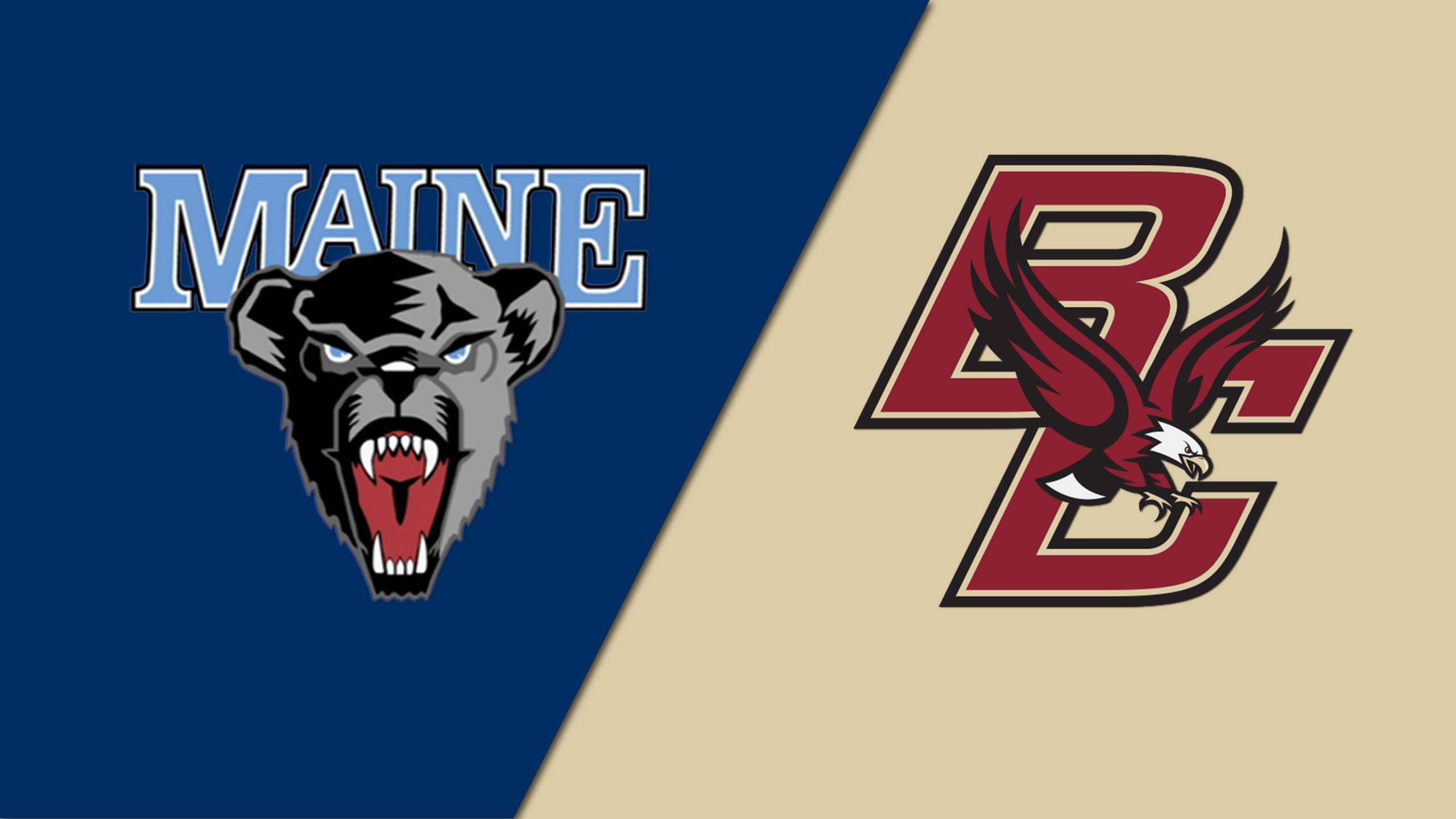 Maine vs. Boston College (M Hockey)