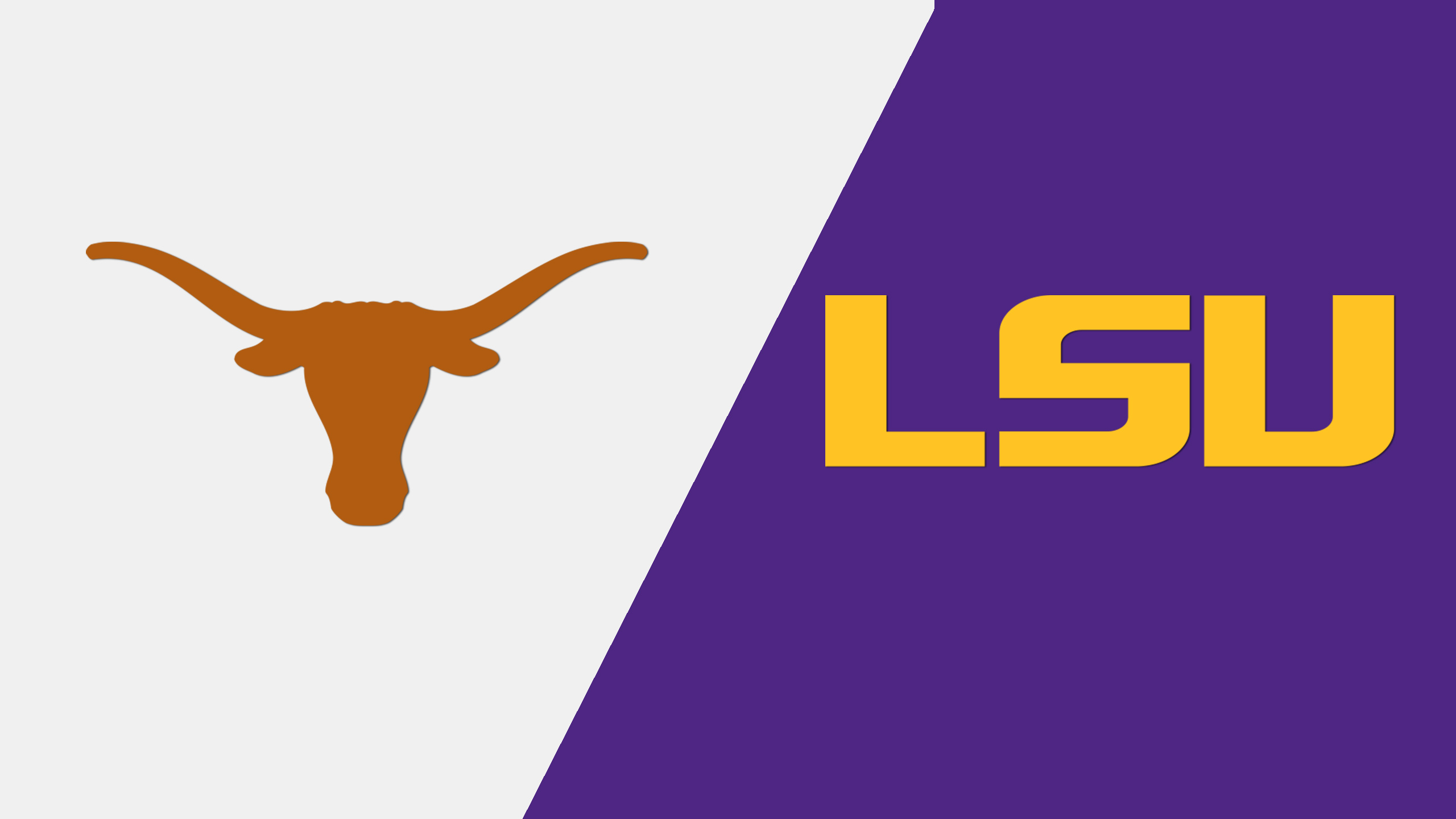 Texas vs. LSU (re-air)