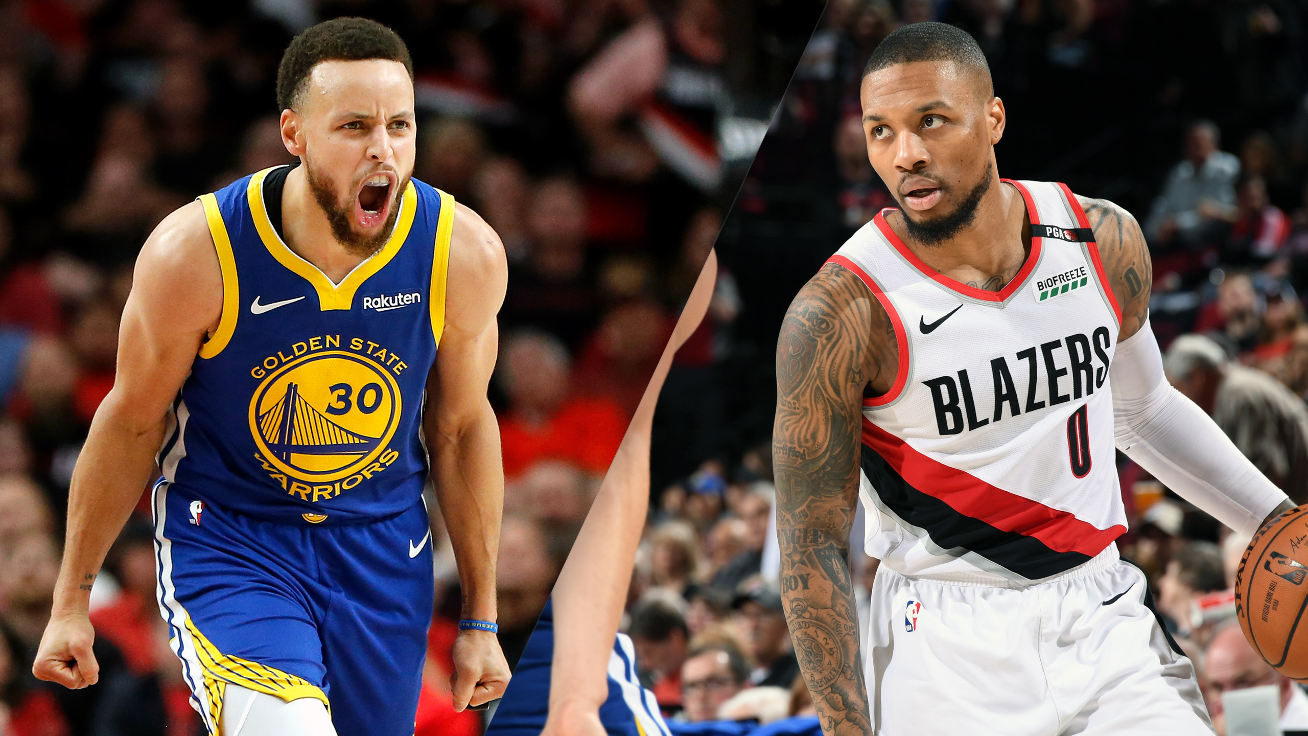 Golden State Warriors vs. Portland Trail Blazers (Conference Finals Game 4) (re-air)