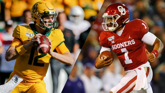 In Spanish-#7 Baylor vs. #6 Oklahoma (Final) (Football)