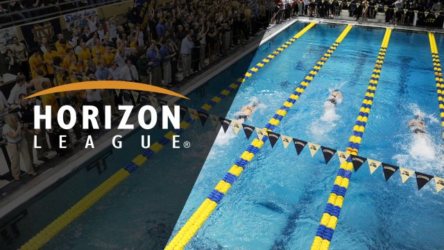 Horizon League Men's and Women's Swimming and Diving Championships (Day 3)