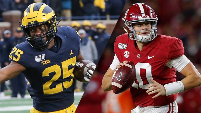 Vrbo Citrus Bowl: #14 Michigan vs. #13 Alabama