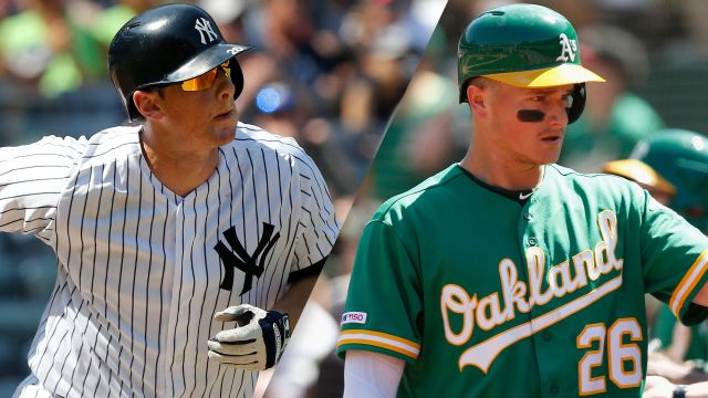 New York Yankees vs. Oakland Athletics (re-air)