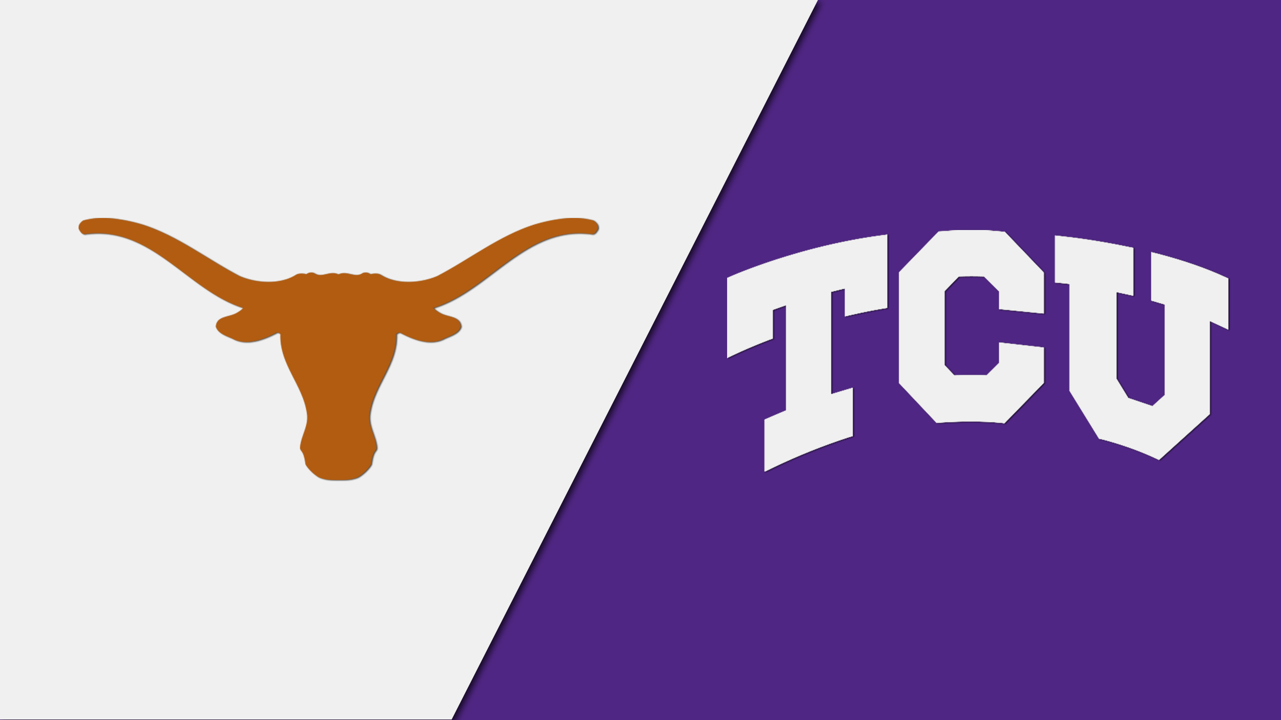 Texas vs. TCU (re-air)