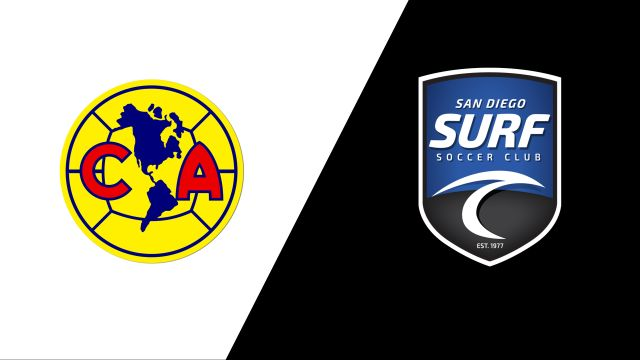 Club America Under-14 vs. San Diego Surf Under-14 (Manchester City Cup)