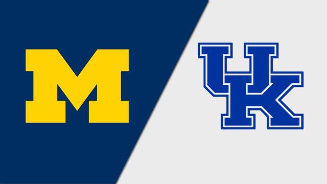 Michigan vs. #9 Kentucky (Second Round) (NCAA Women's Volleyball Tournament)