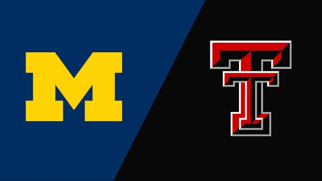 Michigan vs. #4 Texas Tech (Second Round) (NCAA Women's Soccer Championship)