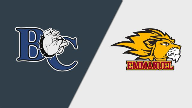 Barton vs. Emmanuel (GA) (M Basketball)