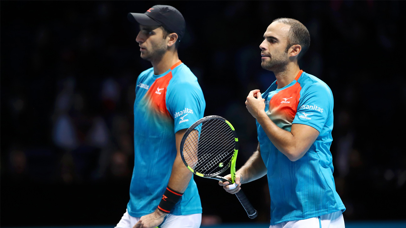 (2) Cabal/Farah vs. (4) Murray/Soares (Doubles Round Robin)