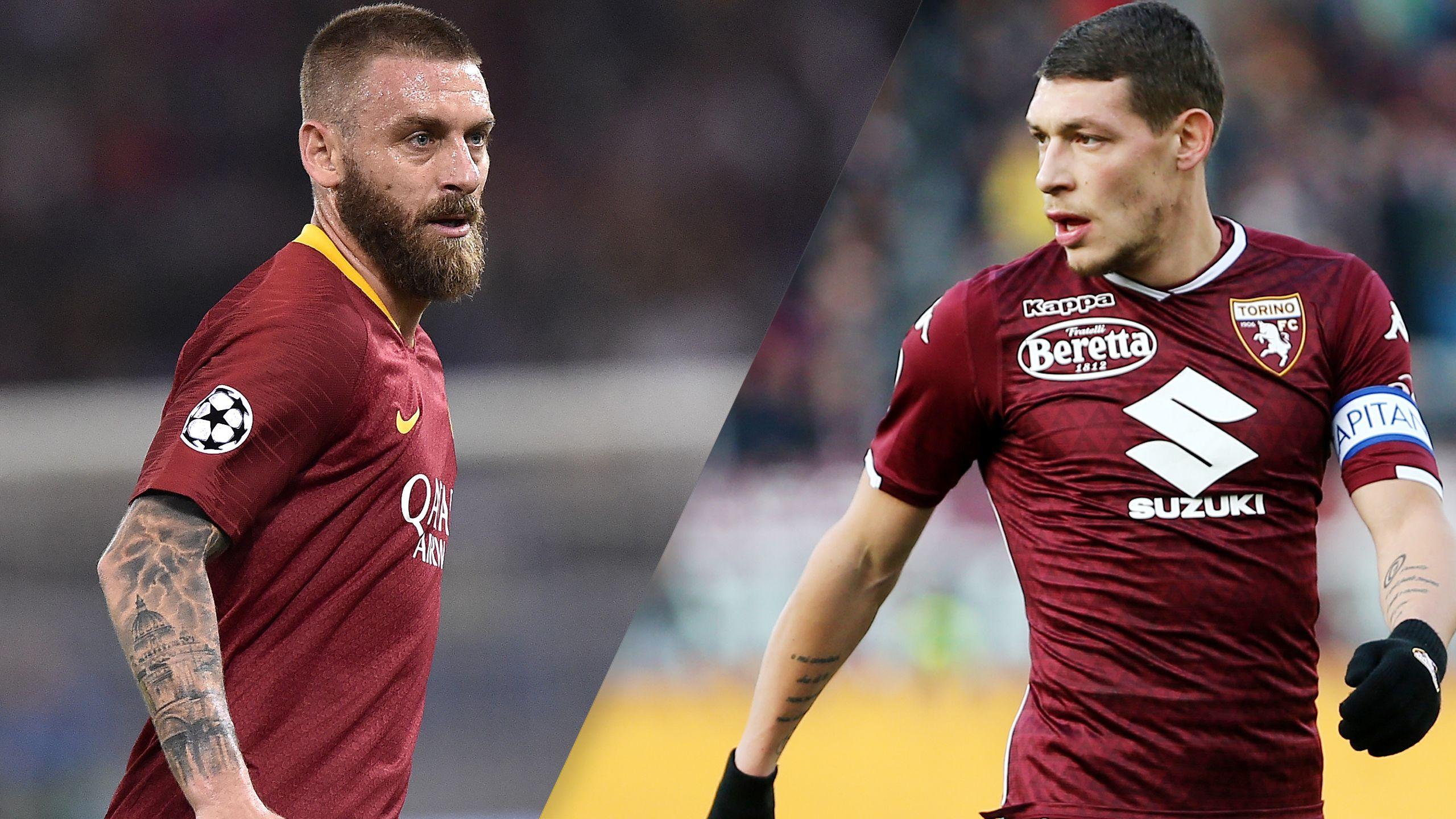 In Spanish - Roma vs. Torino (Serie A)