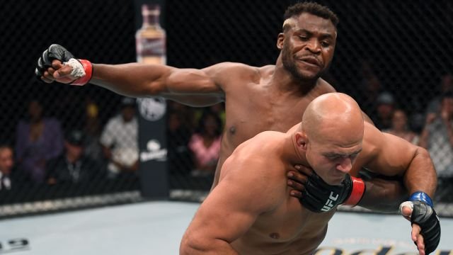 Francis Ngannou vs. Junior Dos Santos (Main Card)
