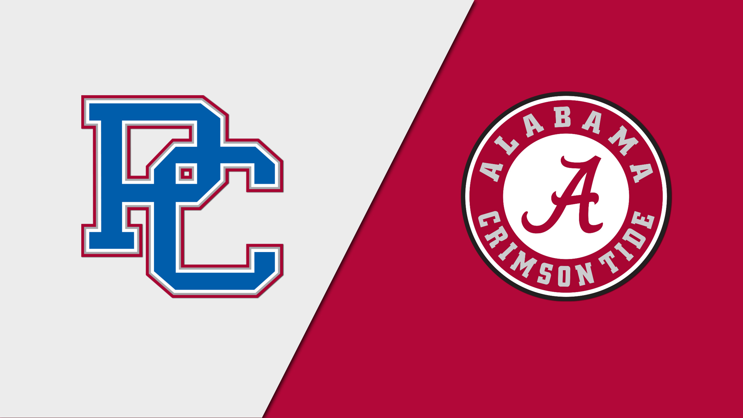 Presbyterian vs. Alabama (Baseball)