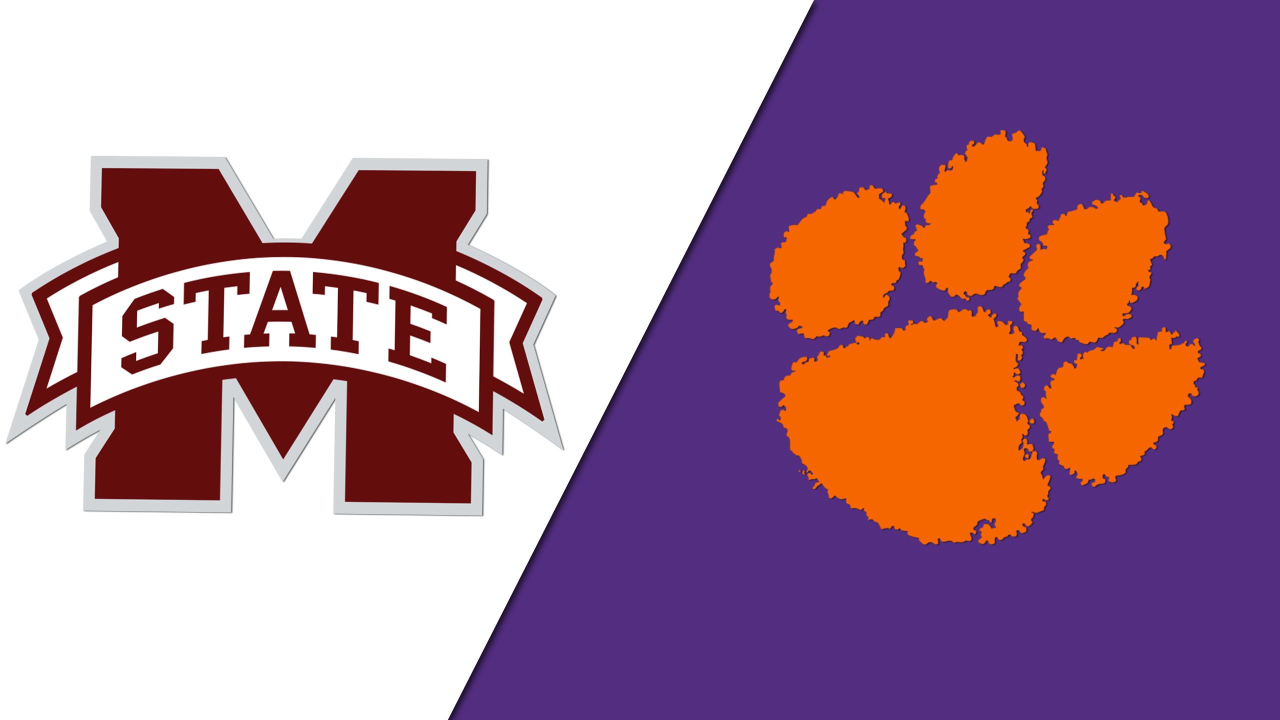 Clemson vs. #22 Mississippi State (M Basketball)