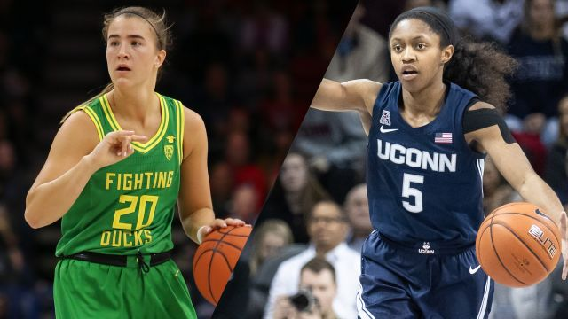 #3 Oregon vs. #4 UConn (W Basketball)