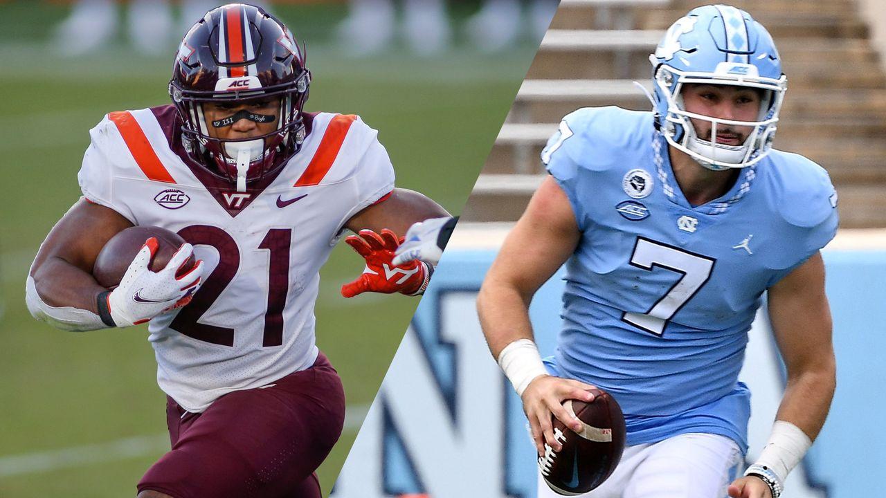 #19 Virginia Tech vs. #8 North Carolina (Football) | Watch ...North Carolina Football